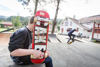 Skateboard hiimsmoen
